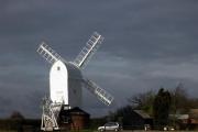 Restored windmill at Aythorpe Roding