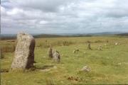 Merrivale Stone Rows