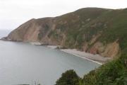 Cliffs between Black Rocks and Sillery Sands