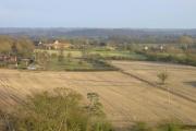 View from Hanbury church