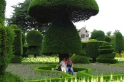 Levens Hall Topiary Garden: Kendal