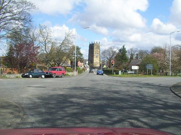 Northop Village and Parish Church