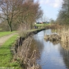 Looking west along the Fairbottom Branch Canal in Daisy Nook Country Park