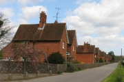 Englefield Village Street Leading Off the A340