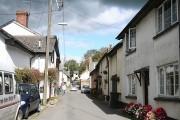 Bishop's Nympton: village street