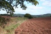 Sandford: footpath to Chilton