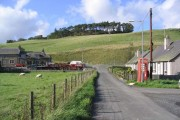 The village of Newmill by the A7