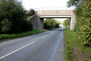 Colliery bridge over Sutton Lane.