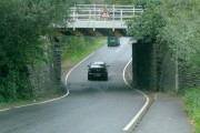 Rail bridge over Ystrad Road