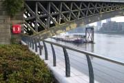 View under Battersea Railway Bridge