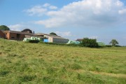 Hay bales at Bickley Hall Farm