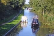 Adlington: Macclesfield Canal from Braddock's Bridge
