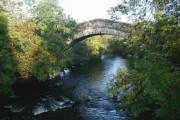 The old bridge at Millhaugh