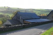 Pontricket Farm near Tregeiriog