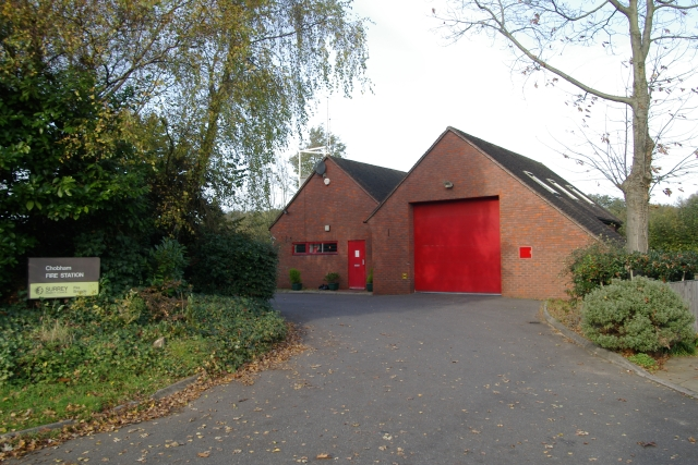 Chobham fire station