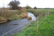 River Alyn/Afon Alun near Ithell's Bridge Farm
