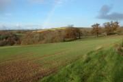 Farmland near Redland to the south of Ashreigney