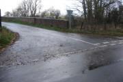 Bridge over disused railway on road to Appletreehall