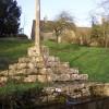Ancient cross in the hamlet of Calmsden.