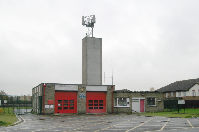 Spennymoor fire station