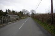 Road into Llanegryn.