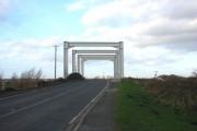 North Bridge Farm Entrance,on the A614,  looking north