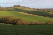 View near Lower Eggbeer