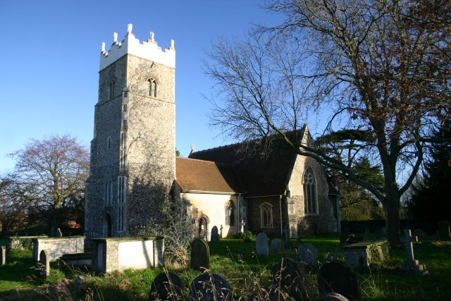 St Peter's Church, Claydon