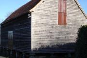 Stilted building on Home Farm