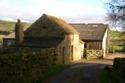 Farm buildings at Aukside