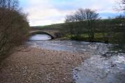 Middleton Bridge on the River Tees