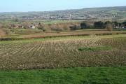 Kilmington: towards the Axe valley