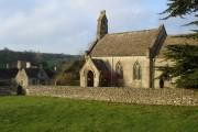 Lasborough church and manor