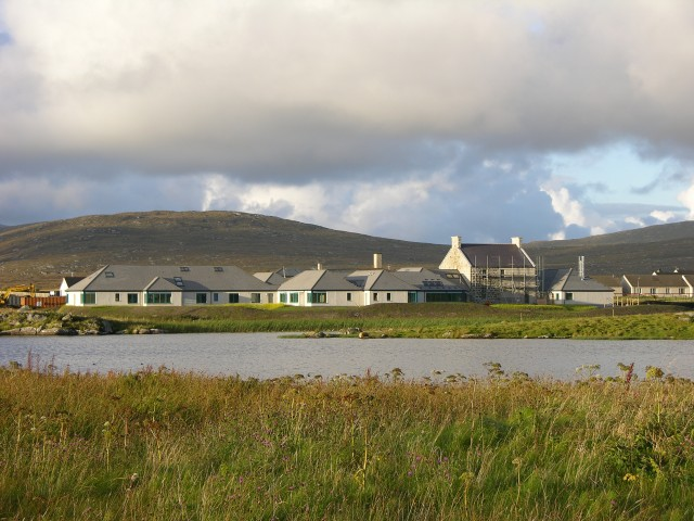 The new South Uist Care Hospital at Daliburgh