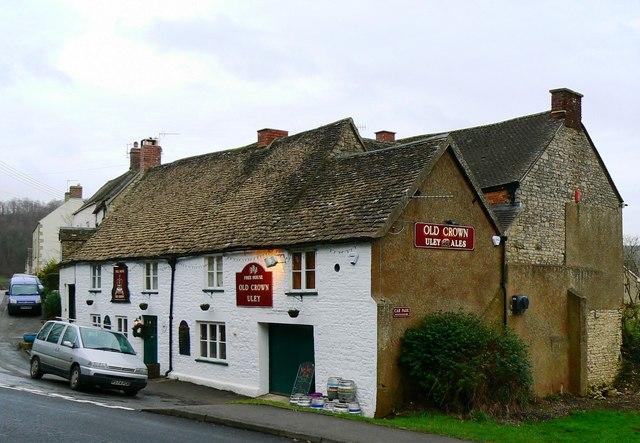 The 'Old Crown' pub, Uley, Dursley