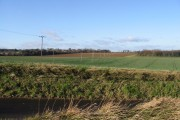 View across farmland.