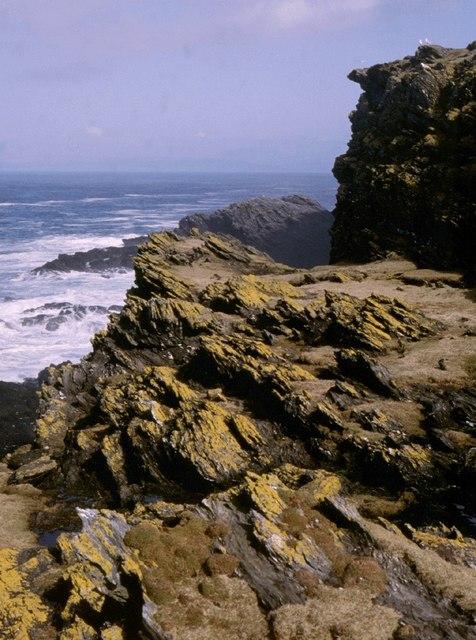 Coastline rocks near Kilchattan