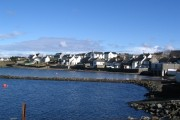 Bowmore from the pier looking east