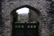 church gate - Capel Dewi