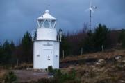 The lighthouse, Scoraig.