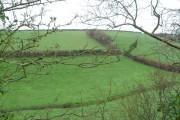 Valley northwest of Chillington