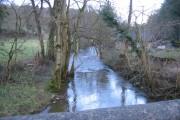 River Alyn Downstream from Pont Newydd
