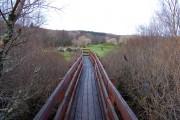 Access bridge to Saint Columba's Isle