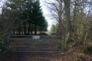 Lodge Wood - Private Keep Out