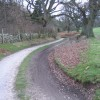 Track from Gwysaney to Blackbrook
