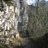 Rock Face on the Leete Path