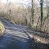 Road Track Junction in Nant Alyn