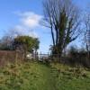 Footpath and Stile at Pantymwyn