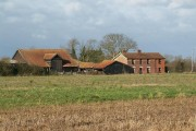 Barns and a farmhouse
