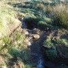 Brook flowing down from the moor near Darwen
